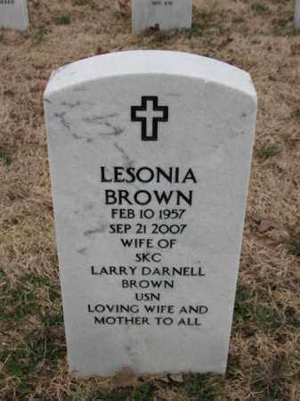 BROWN, LESONIA - Pulaski County, Arkansas | LESONIA BROWN - Arkansas Gravestone Photos