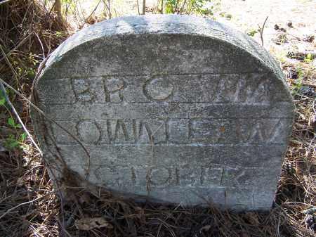 BROWN, LONNIE W. - Pulaski County, Arkansas | LONNIE W. BROWN - Arkansas Gravestone Photos