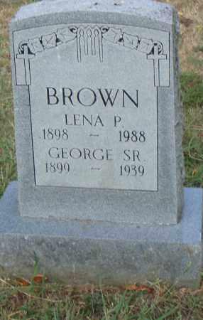 BROWN, LENA P. - Pulaski County, Arkansas   LENA P. BROWN - Arkansas Gravestone Photos