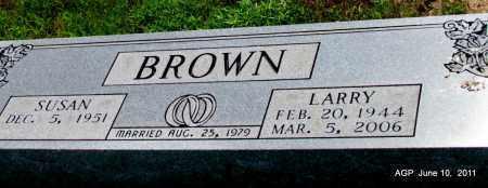 BROWN, LARRY - Pulaski County, Arkansas   LARRY BROWN - Arkansas Gravestone Photos