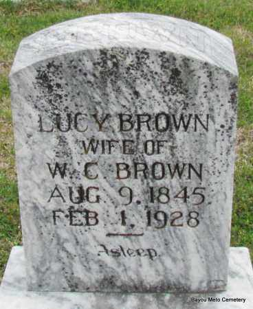 BROWN, LUCY - Pulaski County, Arkansas | LUCY BROWN - Arkansas Gravestone Photos