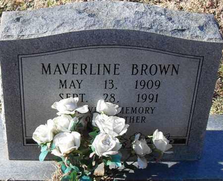 BROWN, MAVERLINE - Pulaski County, Arkansas | MAVERLINE BROWN - Arkansas Gravestone Photos
