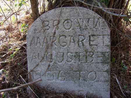 BROWN, MARGARET - Pulaski County, Arkansas | MARGARET BROWN - Arkansas Gravestone Photos