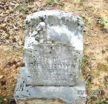 BROWN, MARY M - Pulaski County, Arkansas | MARY M BROWN - Arkansas Gravestone Photos