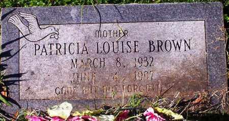 BROWN, PATRICIA LOUISE - Pulaski County, Arkansas   PATRICIA LOUISE BROWN - Arkansas Gravestone Photos