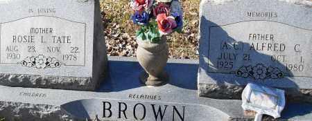 BROWN, ROSIE L - Pulaski County, Arkansas | ROSIE L BROWN - Arkansas Gravestone Photos