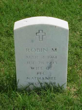 BROWN, ROBIN M - Pulaski County, Arkansas   ROBIN M BROWN - Arkansas Gravestone Photos