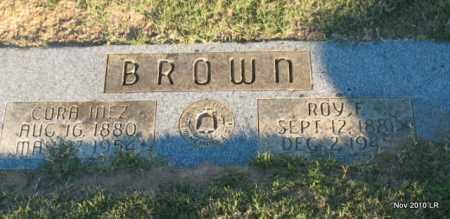 BROWN, ROY F - Pulaski County, Arkansas   ROY F BROWN - Arkansas Gravestone Photos