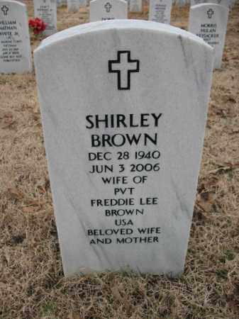 BROWN, SHIRLEY - Pulaski County, Arkansas | SHIRLEY BROWN - Arkansas Gravestone Photos