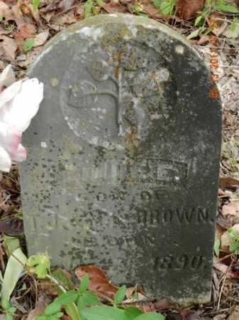 BROWN, SON - Pulaski County, Arkansas   SON BROWN - Arkansas Gravestone Photos