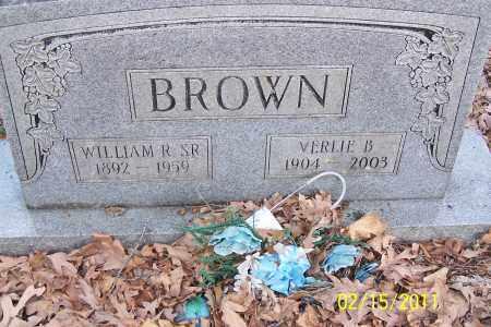 BROWN, VERLIE B - Pulaski County, Arkansas | VERLIE B BROWN - Arkansas Gravestone Photos