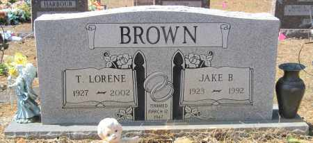BROWN, JAKE B - Pulaski County, Arkansas | JAKE B BROWN - Arkansas Gravestone Photos