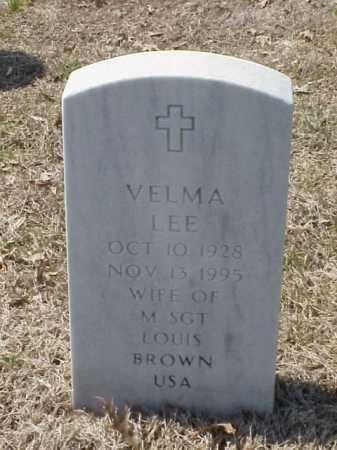 BROWN, VELMA LEE - Pulaski County, Arkansas | VELMA LEE BROWN - Arkansas Gravestone Photos