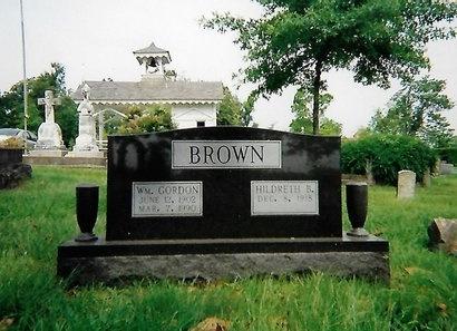 BROWN, WILLIAM GORDON - Pulaski County, Arkansas | WILLIAM GORDON BROWN - Arkansas Gravestone Photos