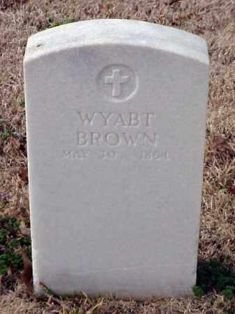 BROWN, WYABT - Pulaski County, Arkansas   WYABT BROWN - Arkansas Gravestone Photos