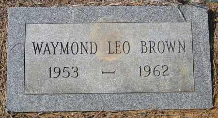 BROWN, WAYMOND LEO - Pulaski County, Arkansas | WAYMOND LEO BROWN - Arkansas Gravestone Photos
