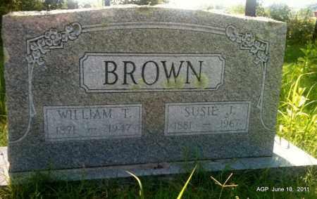 BROWN, SUSIE J - Pulaski County, Arkansas   SUSIE J BROWN - Arkansas Gravestone Photos