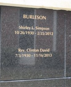BURLESON, SHIRLEY L  - Pulaski County, Arkansas | SHIRLEY L  BURLESON - Arkansas Gravestone Photos