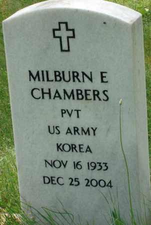 CHAMBERS (VETERAN KOR), MILBURN E - Pulaski County, Arkansas | MILBURN E CHAMBERS (VETERAN KOR) - Arkansas Gravestone Photos