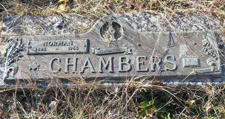 CHAMBERS, NORMAN - Pulaski County, Arkansas | NORMAN CHAMBERS - Arkansas Gravestone Photos