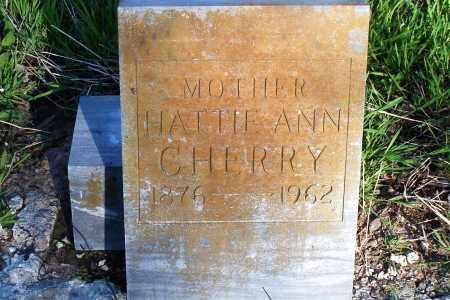 CHERRY, HATTIE ANN - Pulaski County, Arkansas | HATTIE ANN CHERRY - Arkansas Gravestone Photos