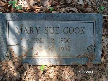 COOK, MARY SUE - Pulaski County, Arkansas | MARY SUE COOK - Arkansas Gravestone Photos
