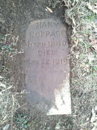 COPPAGE, MARY - Pulaski County, Arkansas | MARY COPPAGE - Arkansas Gravestone Photos