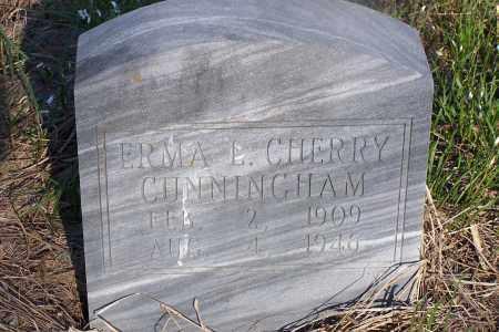 CHERRY CUNNINGHAM, ERMA L - Pulaski County, Arkansas | ERMA L CHERRY CUNNINGHAM - Arkansas Gravestone Photos
