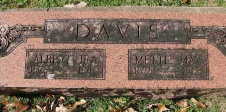 DAVIS, ALBERT IRA - Pulaski County, Arkansas | ALBERT IRA DAVIS - Arkansas Gravestone Photos