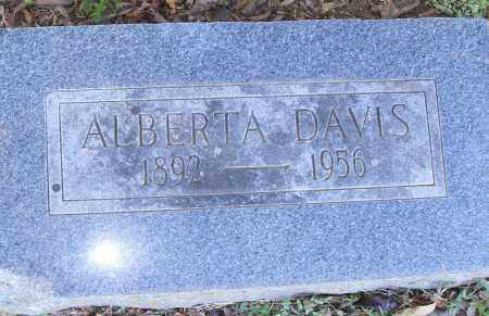 DAVIS, ALBERTA - Pulaski County, Arkansas | ALBERTA DAVIS - Arkansas Gravestone Photos
