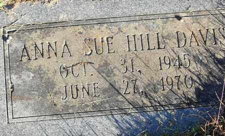 DAVIS, ANNA SUE - Pulaski County, Arkansas   ANNA SUE DAVIS - Arkansas Gravestone Photos