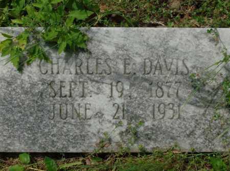 DAVIS, CHARLES E - Pulaski County, Arkansas   CHARLES E DAVIS - Arkansas Gravestone Photos