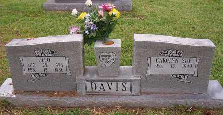 DAVIS, CLEO - Pulaski County, Arkansas | CLEO DAVIS - Arkansas Gravestone Photos