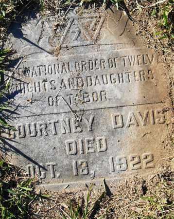 DAVIS, COURTNEY - Pulaski County, Arkansas   COURTNEY DAVIS - Arkansas Gravestone Photos