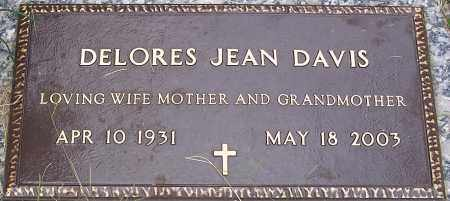 DAVIS, DELORES JEAN - Pulaski County, Arkansas   DELORES JEAN DAVIS - Arkansas Gravestone Photos