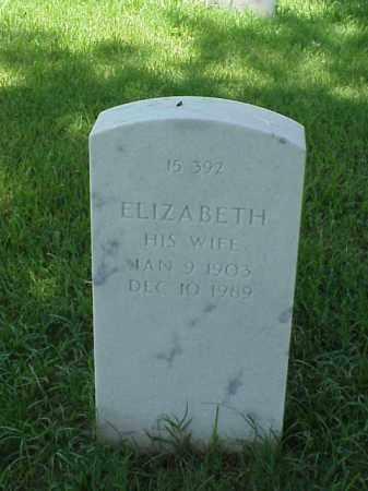 DAVIS, ELIZABETH - Pulaski County, Arkansas | ELIZABETH DAVIS - Arkansas Gravestone Photos