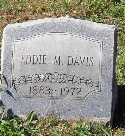 DAVIS, EDDIE M. - Pulaski County, Arkansas | EDDIE M. DAVIS - Arkansas Gravestone Photos
