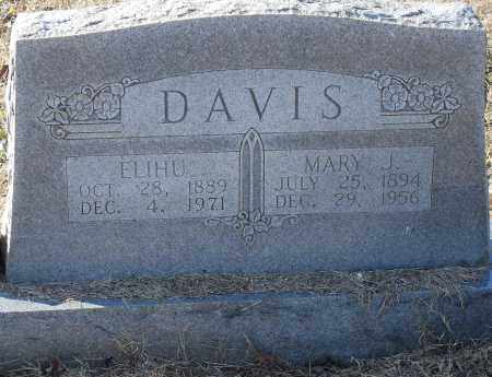 DAVIS, ELIHU - Pulaski County, Arkansas | ELIHU DAVIS - Arkansas Gravestone Photos