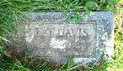 DAVIS, EMMET - Pulaski County, Arkansas | EMMET DAVIS - Arkansas Gravestone Photos