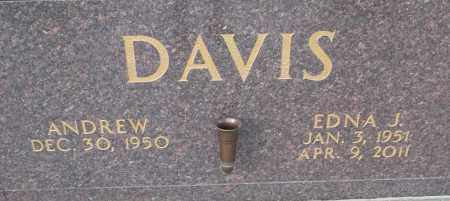 DAVIS, EDNA J - Pulaski County, Arkansas | EDNA J DAVIS - Arkansas Gravestone Photos