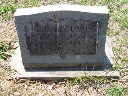 DAVIS, FREEMAN - Pulaski County, Arkansas | FREEMAN DAVIS - Arkansas Gravestone Photos