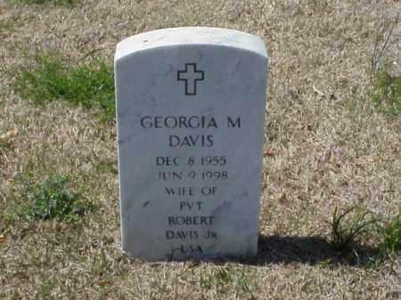 DAVIS, GEORGIA M. - Pulaski County, Arkansas | GEORGIA M. DAVIS - Arkansas Gravestone Photos