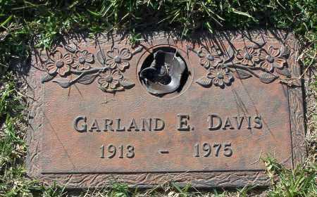 DAVIS, GARLAND E - Pulaski County, Arkansas   GARLAND E DAVIS - Arkansas Gravestone Photos