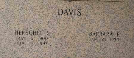 DAVIS, HERSCHEL S - Pulaski County, Arkansas | HERSCHEL S DAVIS - Arkansas Gravestone Photos