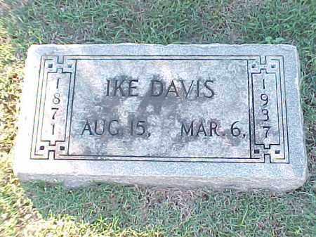 DAVIS, IKE - Pulaski County, Arkansas   IKE DAVIS - Arkansas Gravestone Photos