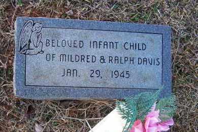 DAVIS, INFANT CHILD - Pulaski County, Arkansas | INFANT CHILD DAVIS - Arkansas Gravestone Photos