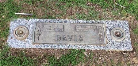 DAVIS, JACK J. - Pulaski County, Arkansas | JACK J. DAVIS - Arkansas Gravestone Photos
