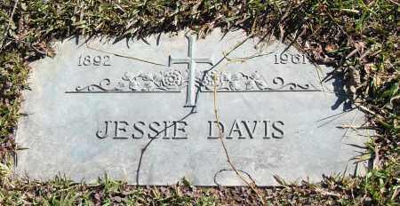 DAVIS, JESSIE - Pulaski County, Arkansas | JESSIE DAVIS - Arkansas Gravestone Photos