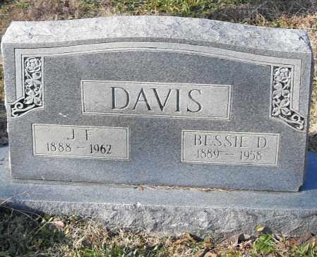 DAVIS, J.F. - Pulaski County, Arkansas | J.F. DAVIS - Arkansas Gravestone Photos