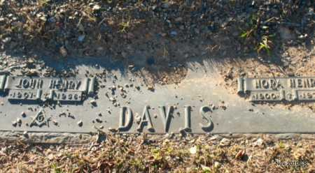 DAVIS, JOHN HENRY - Pulaski County, Arkansas | JOHN HENRY DAVIS - Arkansas Gravestone Photos